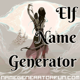 About The Sindarin Elf Name Generator