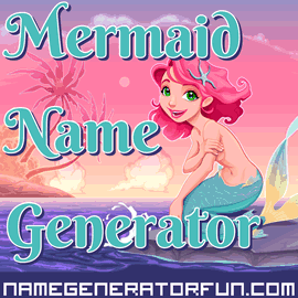 About Our Original Mermaid and Merman Names