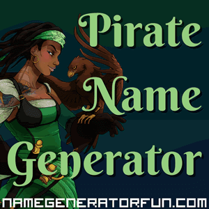 Pirate Name Generator