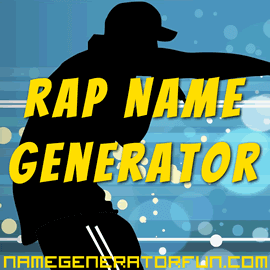 The Ultimate Rap Name Generator for Wu Tang Clan, Hip Hop