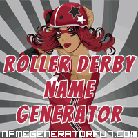 Get your own roller derby name from the roller derby name generator!
