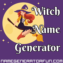 Magical Witch Name Generator for Sorcery and Spookiness